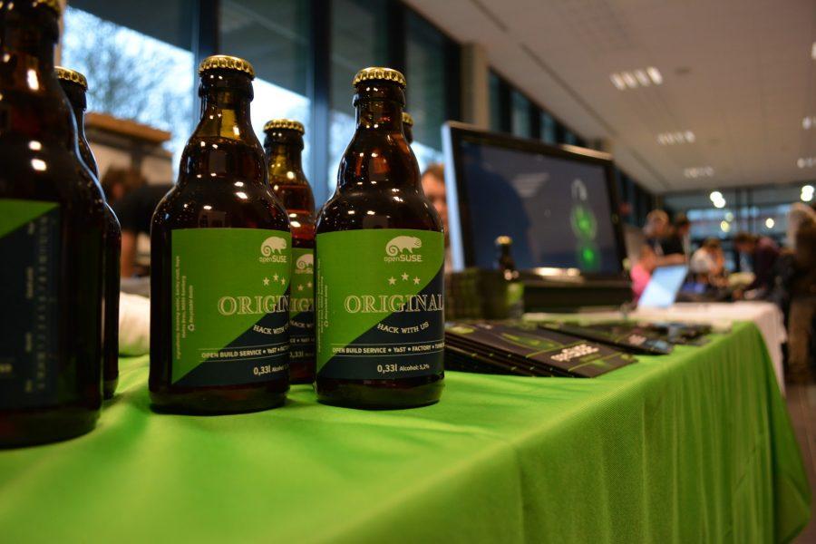 Cerveza openSUSE