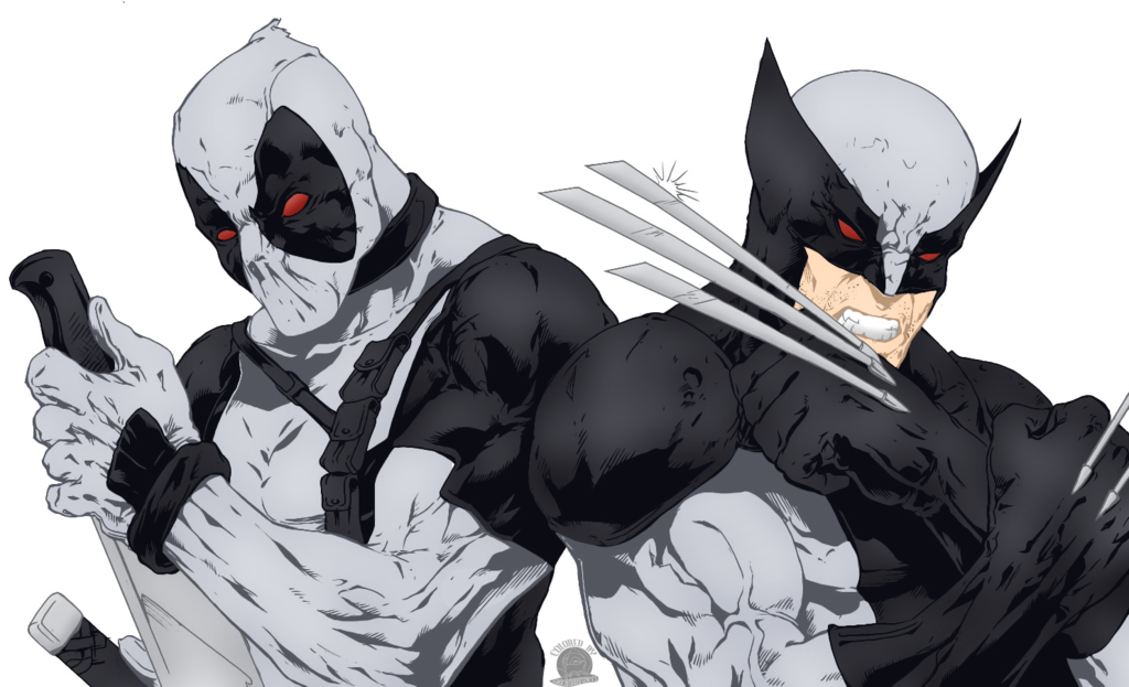 wolverine and deadpool trinchera