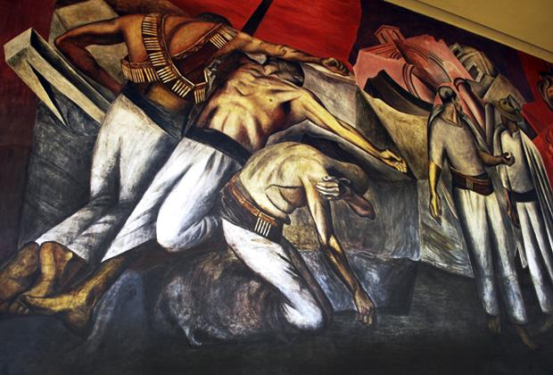 La Trinchera José Clemente Orozco
