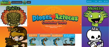 Dioses Aztecas - casa del mostro